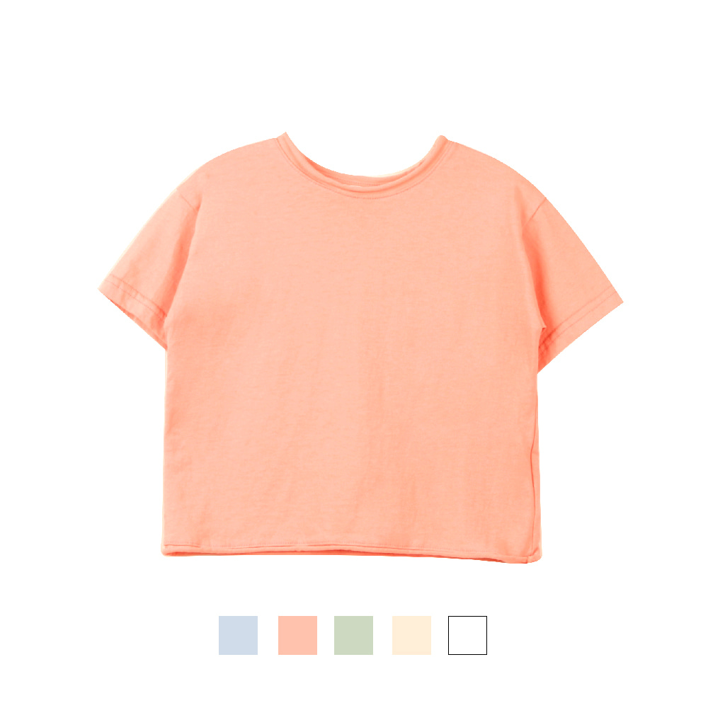 20 S/S Basic Short Sleeve T-shirt (5차 입고, 당일발송)