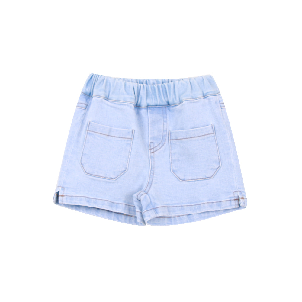 20 S/S Slit Short Pants - denim (5차 입고, 당일발송)
