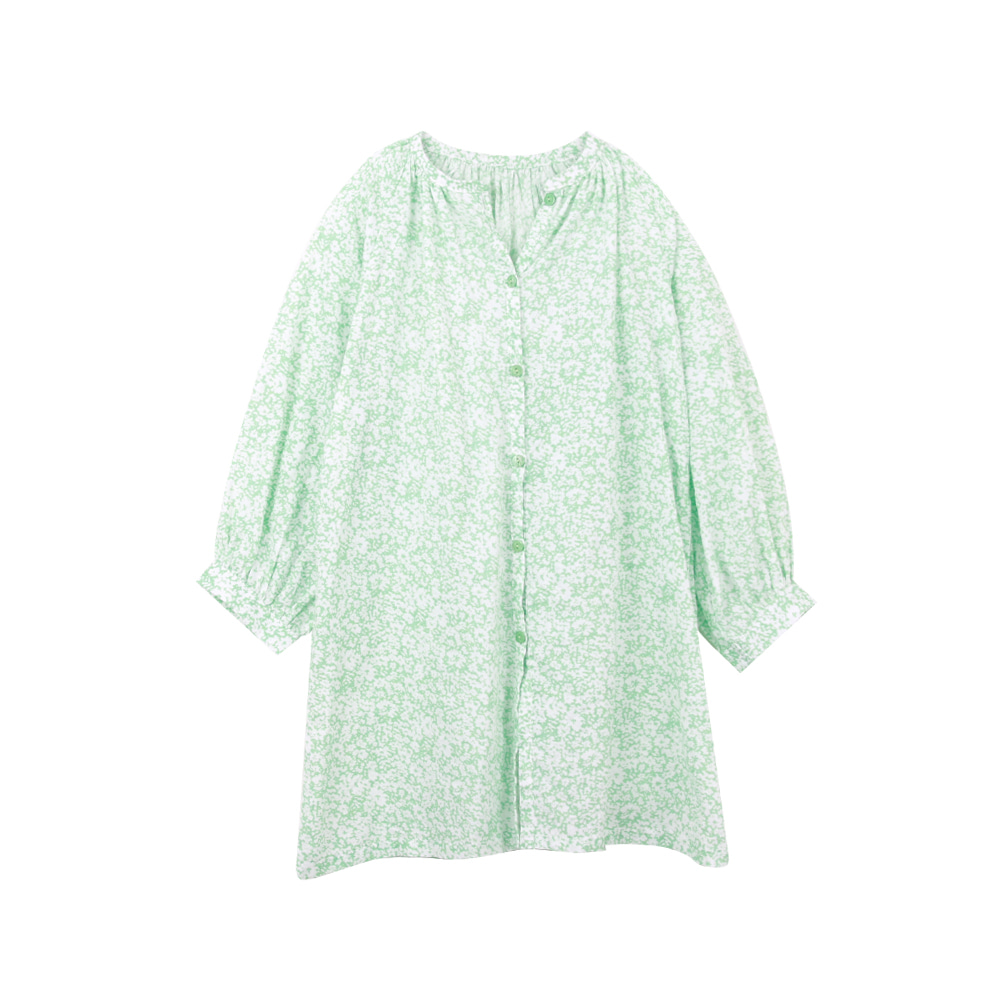 Green puff onepiece (2차 입고, 당일발송)