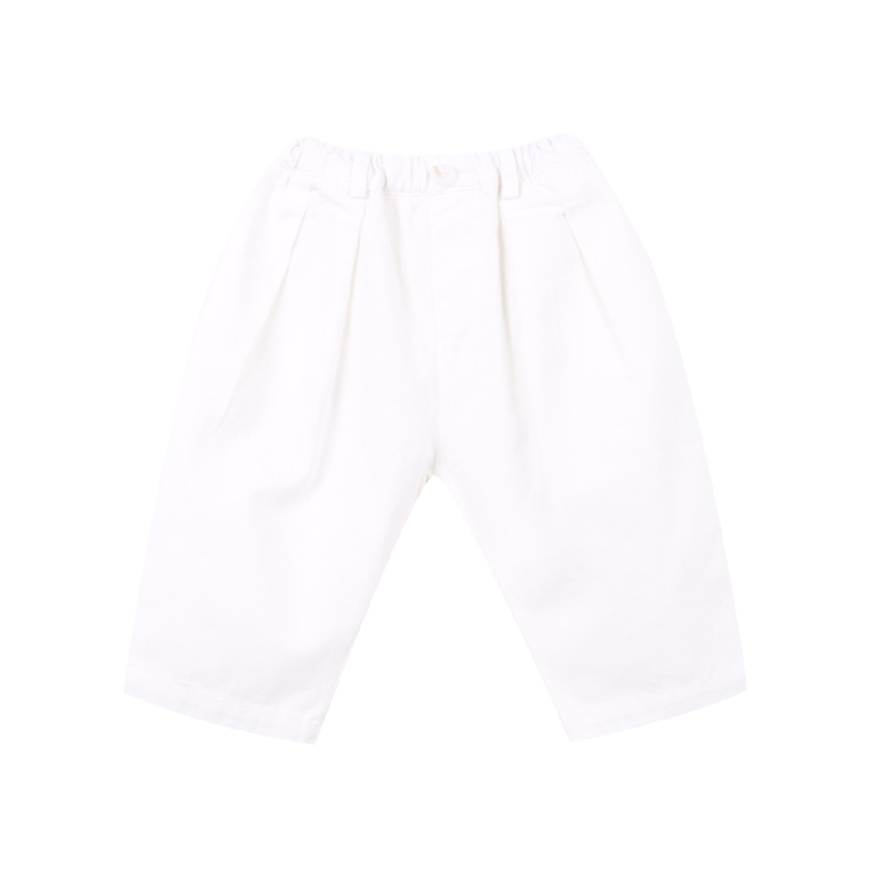 20 S/S Baggy pants - ivory (2차 입고, 당일발송)