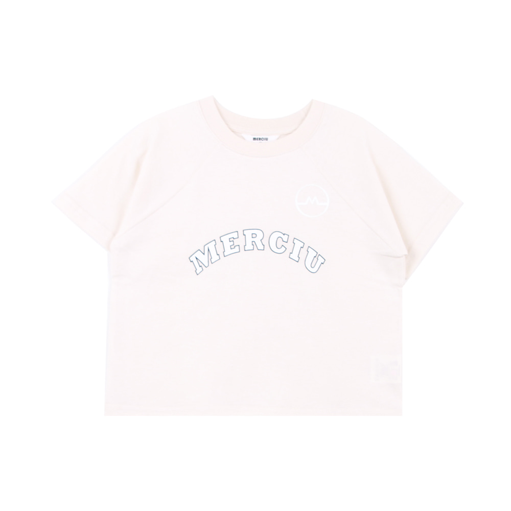 20 Summer Merciu T-shirt - ivory (2차 입고, 당일발송)