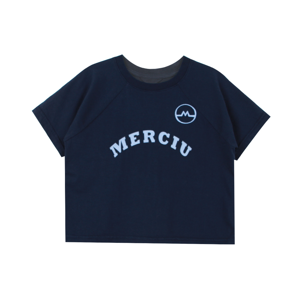 20 Summer Merciu T-shirt - navy (2차 입고, 당일발송)