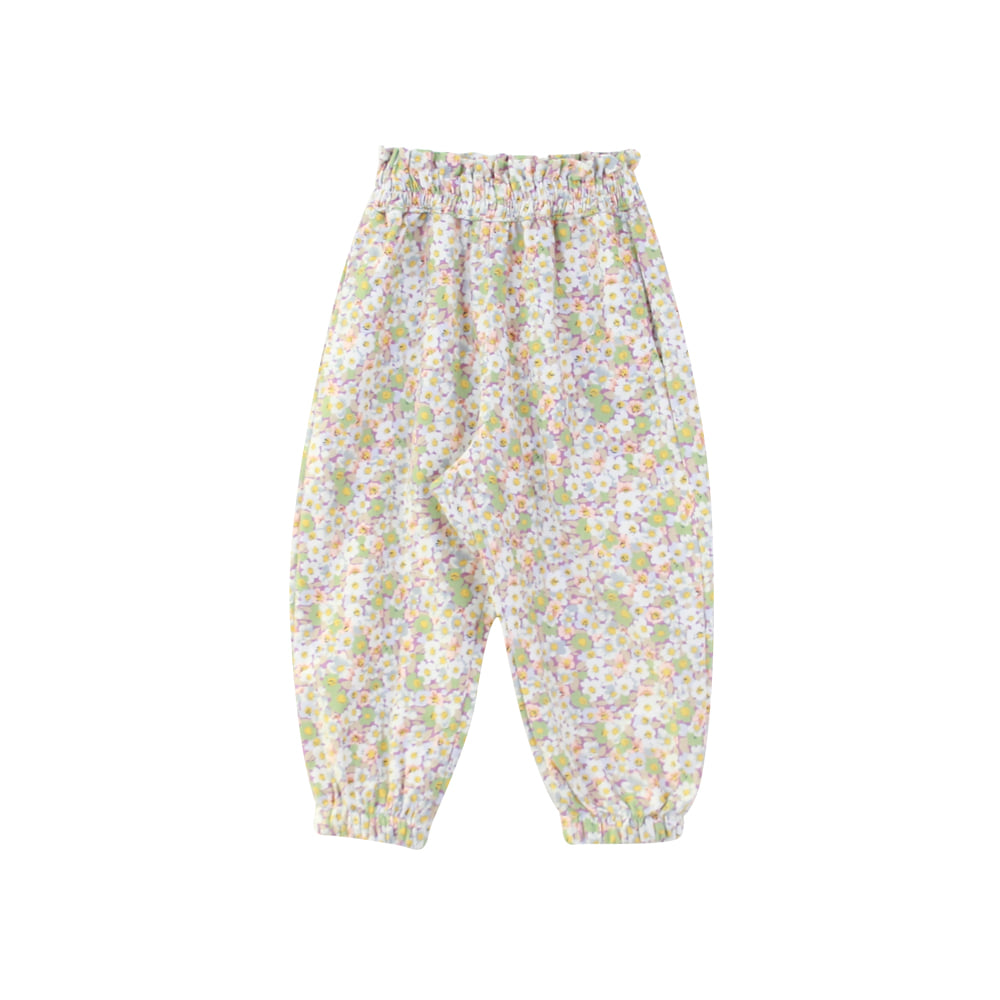 Flower frill jogger pants (3차 프리오더)