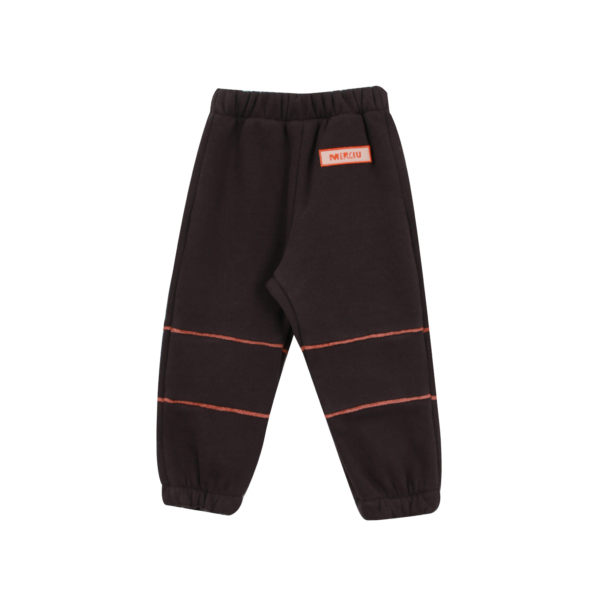 Piping jogger pants - charcoal (2차입고, 당일발송)